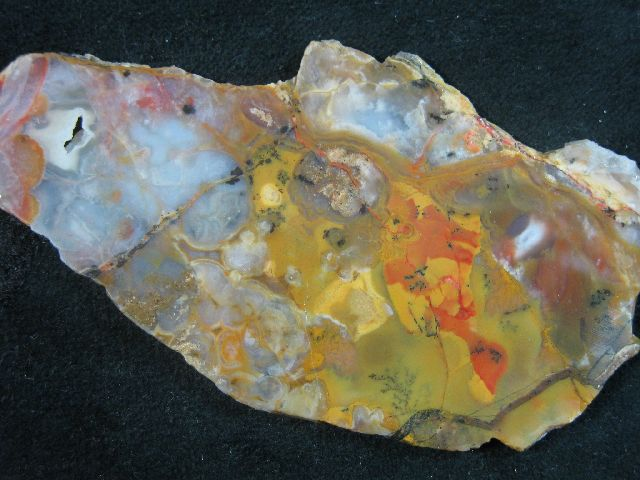 Colorful Rainbow Ridge Jasp-Agate Slab