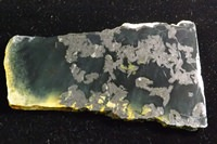 Jade with Magnetite Slab