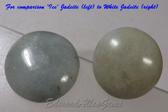 Comparison of 'Ice' to 'White' Cabochons